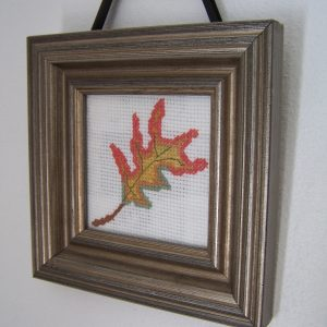 Variegated Leaf Cross Stitch