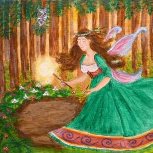 Forest Fairy Print
