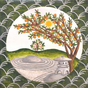 Japanese Garden- Summer Print