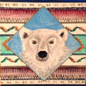Polar Bear Spirit Print