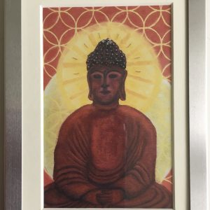 Buddha Infinite Print Framed