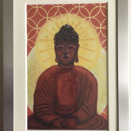 Buddha Infinite Print Framed – Robin Phillips Studio