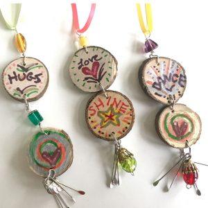 Inspirational Dangle Ornaments