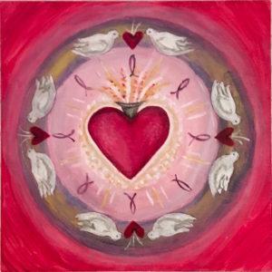 Sacred Heart Mandala